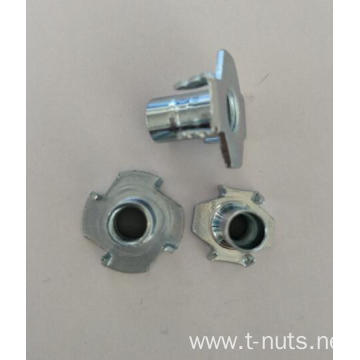 M4X8 Carbon steel zinc plated  Tee nuts